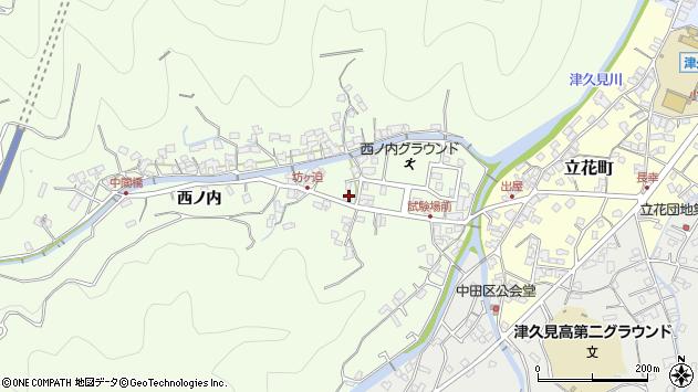 大分県津久見市津久見6876周辺の地図
