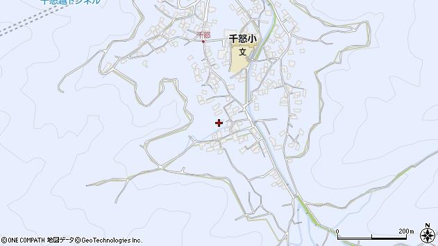 大分県津久見市千怒1742周辺の地図