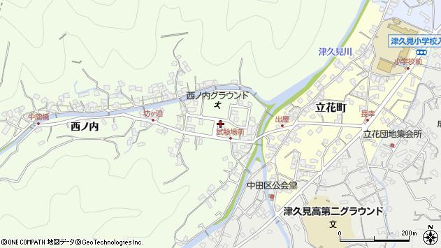 大分県津久見市津久見6720周辺の地図