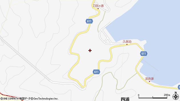 大分県津久見市四浦2905周辺の地図