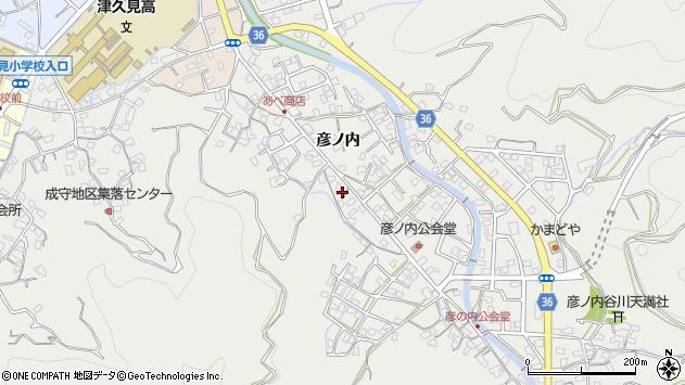 大分県津久見市津久見2156周辺の地図