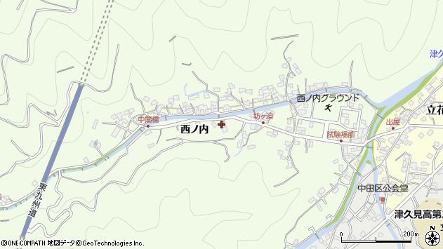 大分県津久見市津久見6974周辺の地図