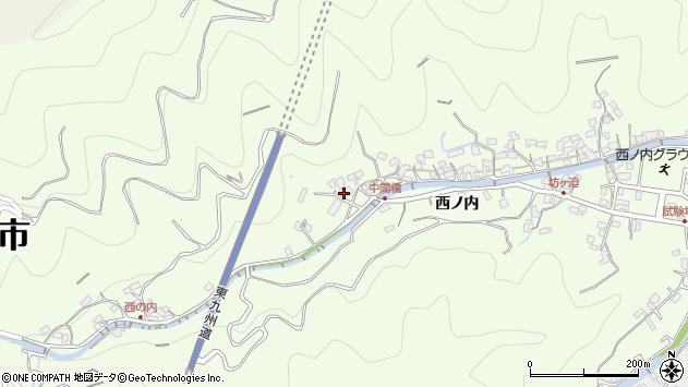 大分県津久見市津久見8114周辺の地図
