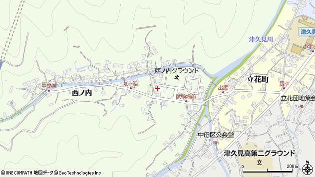 大分県津久見市津久見6691周辺の地図