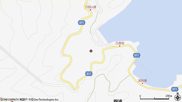 大分県津久見市四浦2900周辺の地図