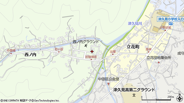 大分県津久見市津久見6769周辺の地図