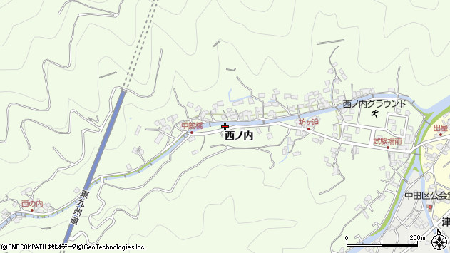 大分県津久見市津久見7082周辺の地図