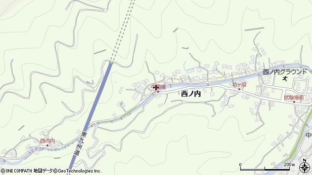 大分県津久見市津久見8122周辺の地図