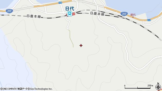 大分県津久見市網代577周辺の地図
