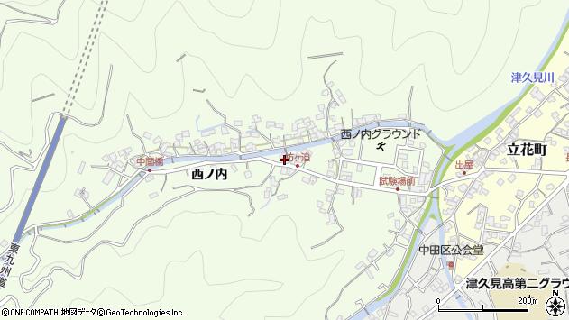 大分県津久見市津久見6857周辺の地図