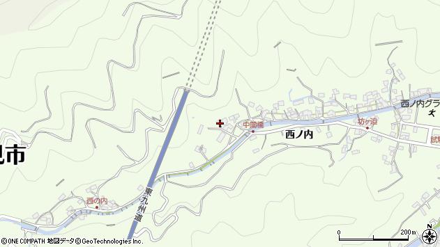 大分県津久見市津久見8113周辺の地図