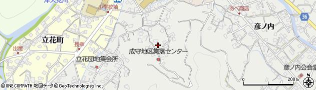 大分県津久見市津久見3124周辺の地図
