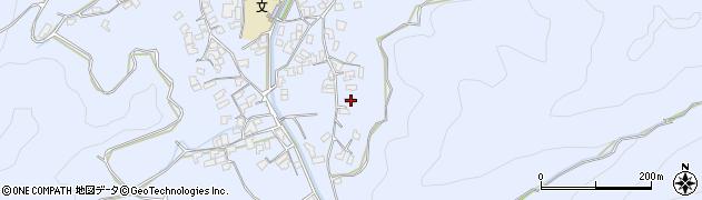 大分県津久見市千怒2648周辺の地図