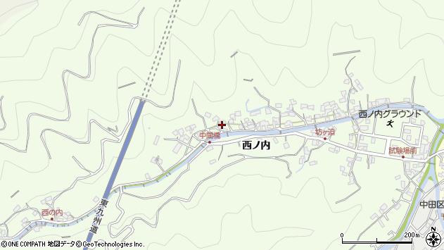 大分県津久見市津久見8140周辺の地図
