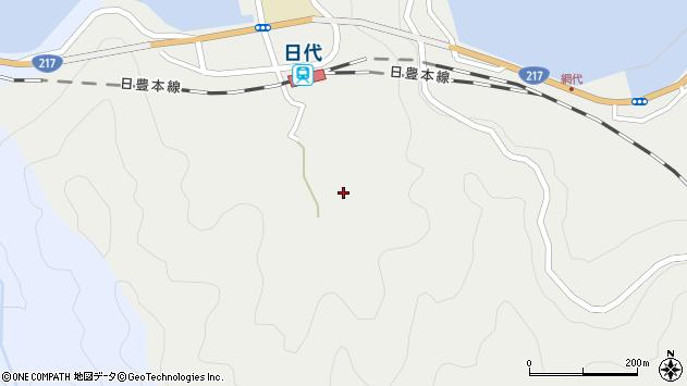大分県津久見市網代578周辺の地図