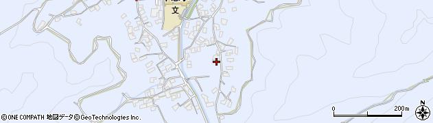 大分県津久見市千怒2637周辺の地図