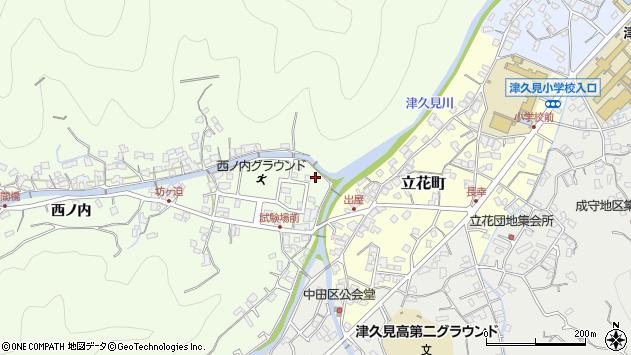 大分県津久見市津久見6771周辺の地図