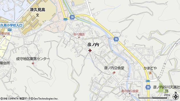 大分県津久見市津久見2357周辺の地図