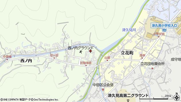 大分県津久見市津久見6761周辺の地図