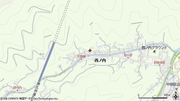 大分県津久見市津久見8151周辺の地図