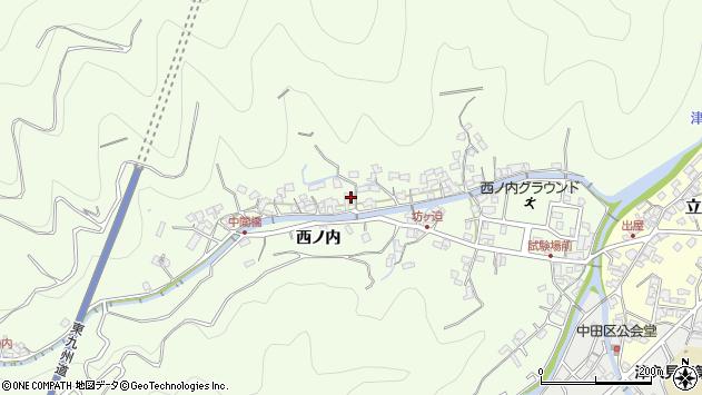 大分県津久見市津久見8250周辺の地図
