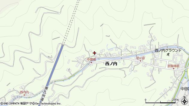 大分県津久見市津久見8138周辺の地図