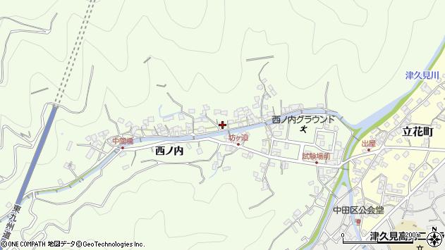 大分県津久見市津久見8260周辺の地図