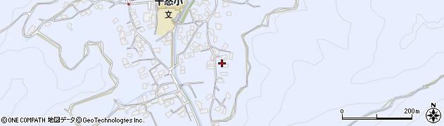 大分県津久見市千怒2784周辺の地図