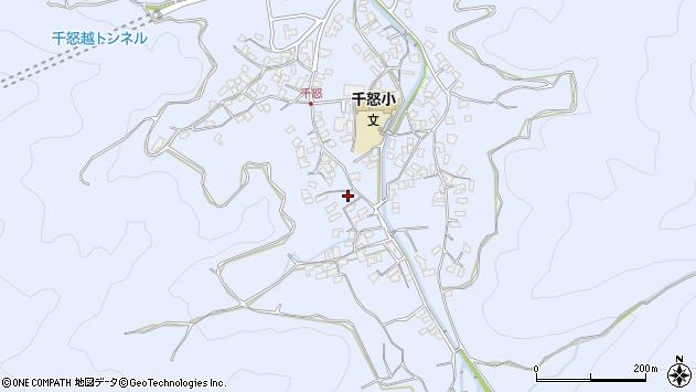 大分県津久見市千怒1731周辺の地図