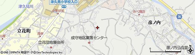 大分県津久見市津久見3102周辺の地図