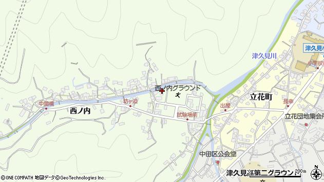 大分県津久見市津久見6805周辺の地図
