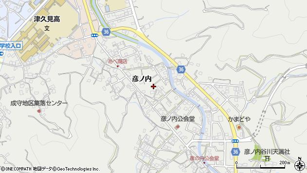 大分県津久見市津久見2291周辺の地図
