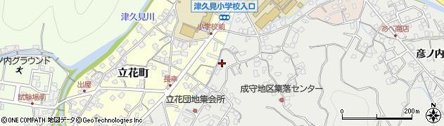 大分県津久見市津久見3942周辺の地図
