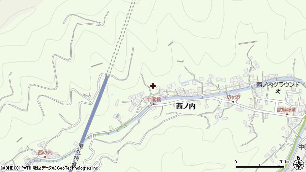 大分県津久見市津久見8129周辺の地図
