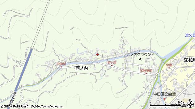 大分県津久見市津久見8256周辺の地図