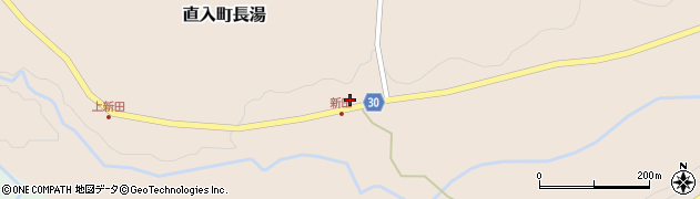大分県竹田市直入町大字長湯3908周辺の地図