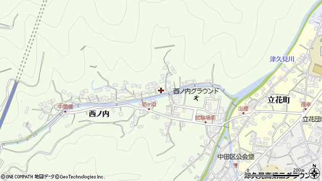 大分県津久見市津久見8314周辺の地図