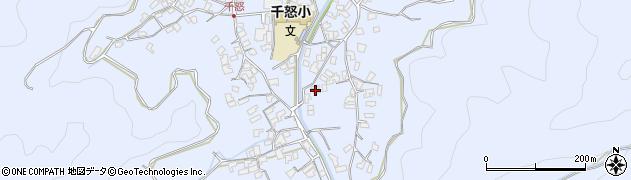 大分県津久見市千怒2737周辺の地図
