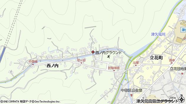 大分県津久見市津久見8410周辺の地図