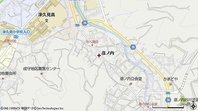 大分県津久見市津久見2363周辺の地図