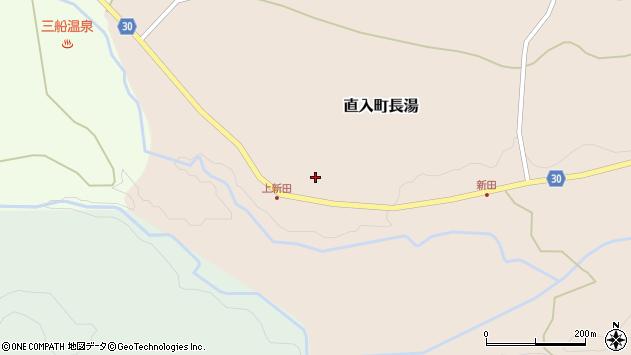 大分県竹田市直入町大字長湯3836周辺の地図