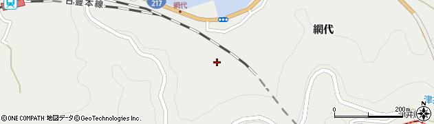 大分県津久見市網代1955周辺の地図