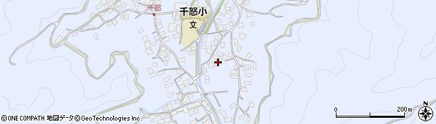 大分県津久見市千怒2716周辺の地図