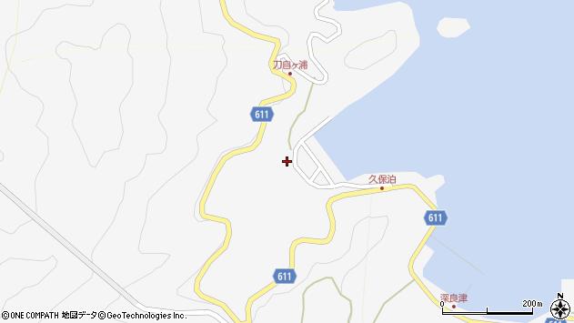 大分県津久見市四浦2962周辺の地図