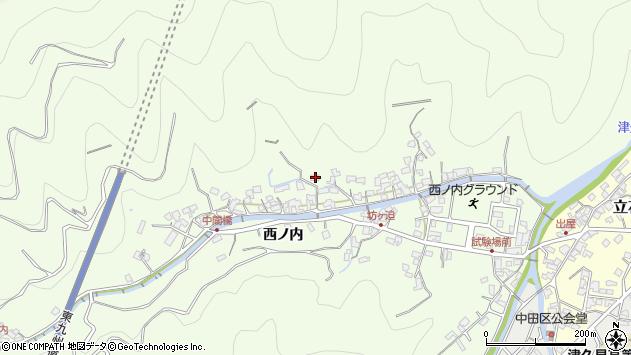大分県津久見市津久見8206周辺の地図