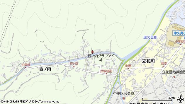 大分県津久見市津久見8418周辺の地図