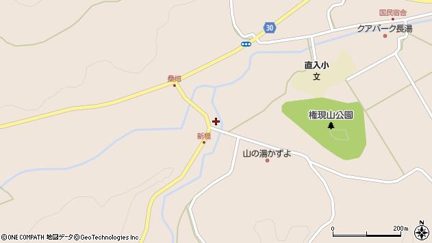 大分県竹田市直入町大字長湯590周辺の地図
