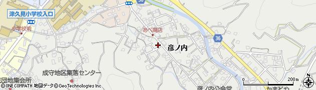 大分県津久見市津久見2367周辺の地図