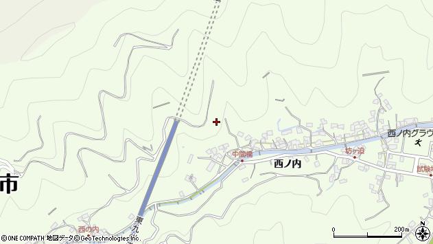 大分県津久見市津久見樋口周辺の地図