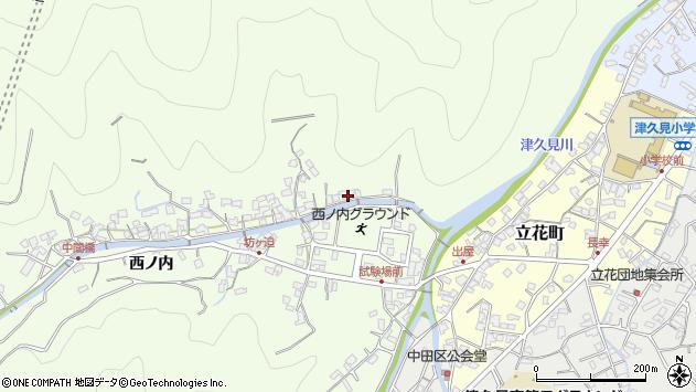 大分県津久見市津久見8426周辺の地図